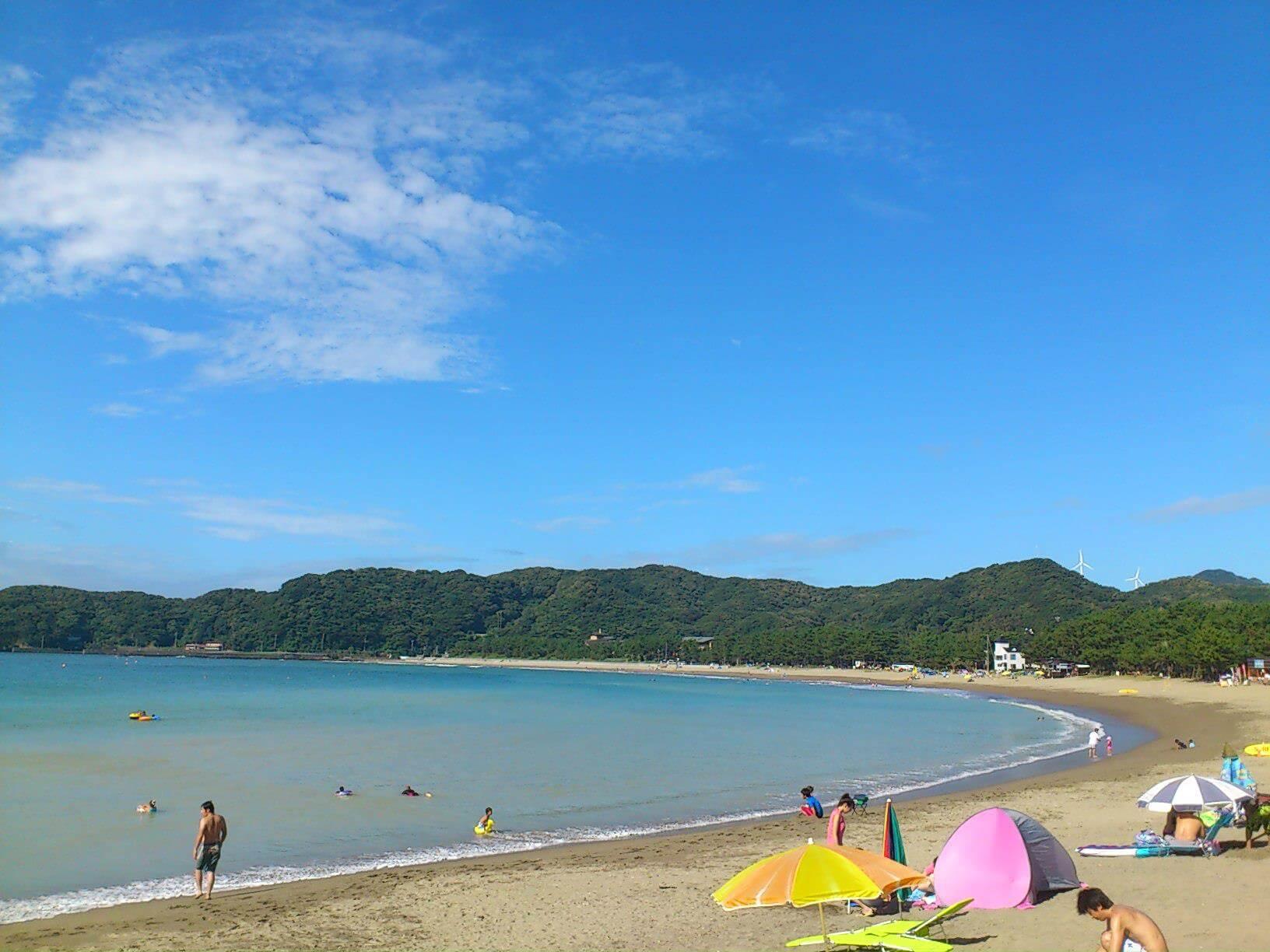 弓ヶ浜の景色