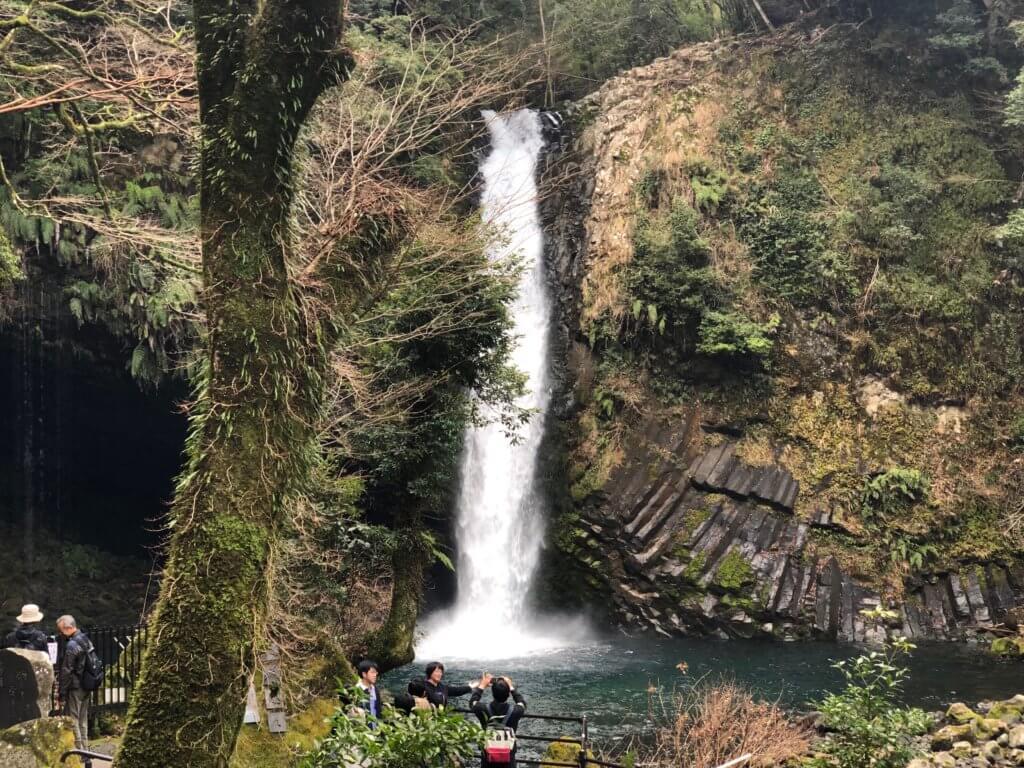 浄蓮の滝入り口