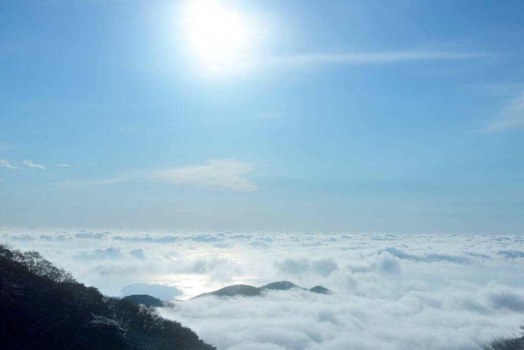 伊豆スカイラインの雲海